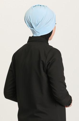 Babyblau Bonnet 0022-12