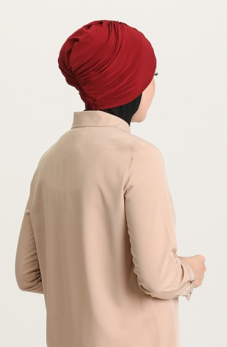 القبعات أحمر كلاريت 0035-08