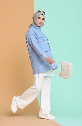 Veste Bleu Jean 6616-01