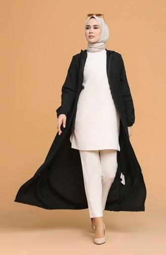 Black Abaya 6887-01