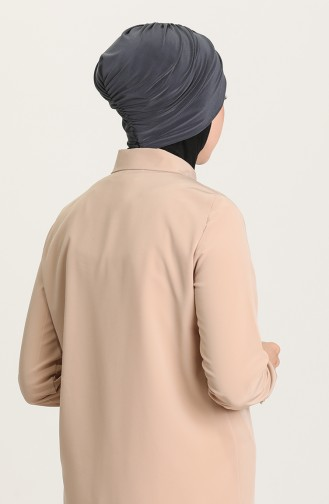 القبعات أسود فاتح 0035-20