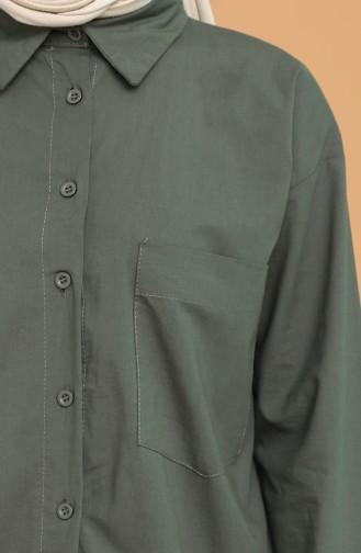 Khaki Hemd 5291-08