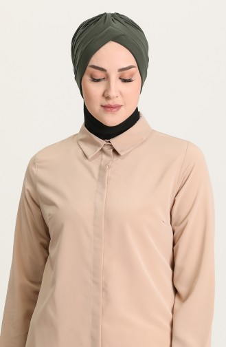 Doppelseitiger Bonnet 0028-02 Khaki 0028-02