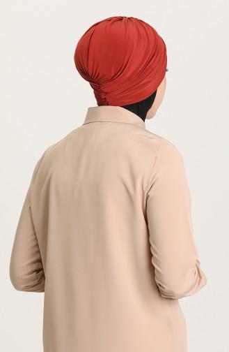 القبعات قرميدي 0035-27