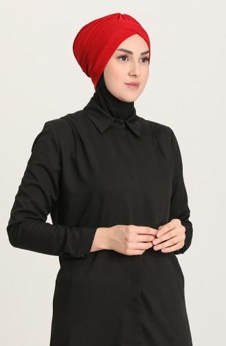 Doppelseitiger Bonnet 0028-16 Rot 0028-16