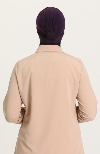 Bonnet Double Face 0028-04 Pourpre Foncé 0028-04