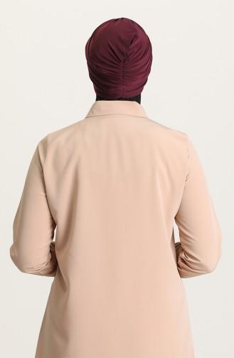 القبعات الأرجواني الداكن 0035-05