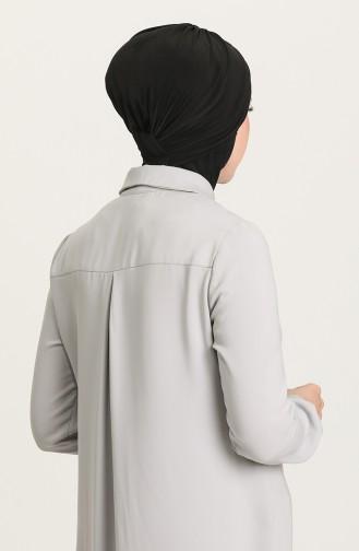 Bonnet 3 Bandes Croisés 0022-01 Noir 0022-01