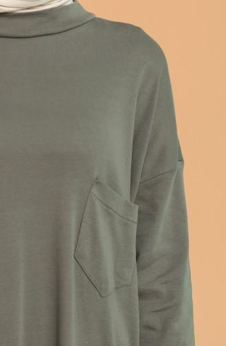 Cepli Sweatshirt 1572-01 Haki 1572-01