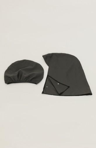Anthracite Modest Swimwear 28166-01