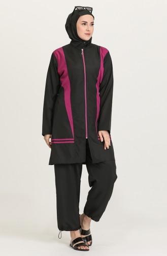 Black Modest Swimwear 28194 -01