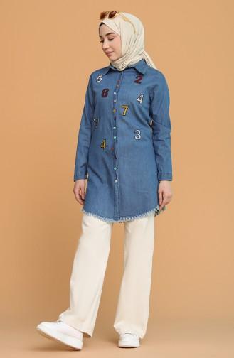 تونيك أزرق جينز 2250-01