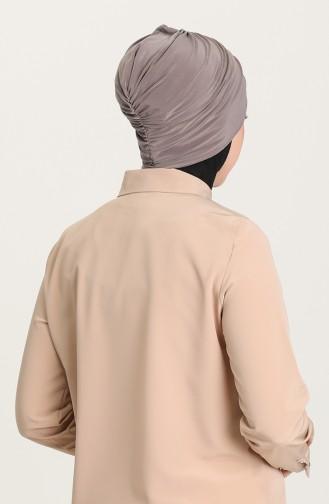 القبعات بني مائل للرمادي 0035-23