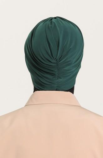 القبعات أخضر زمردي 0035-25
