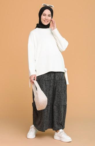 Anthracite Skirt 8301-01