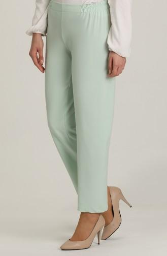 Pantalon Vert menthe 1983A-06