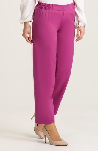 Elastic Waist Trousers 1983-18 Milk Brown 1983B-06
