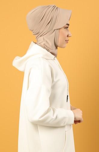 Silver Mink Ready to wear Turban 0044-07