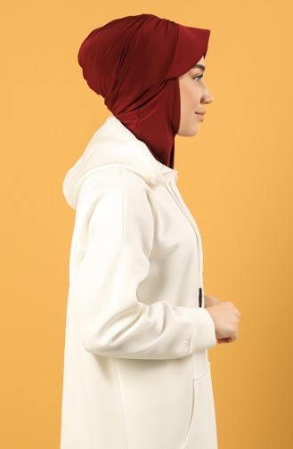 Claret red Ready to wear Turban 0044-10
