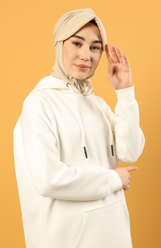 Beige Praktischer Turban 0044-13