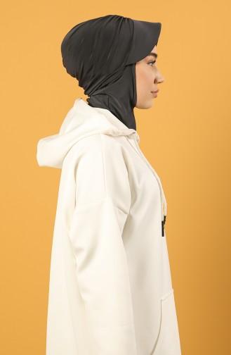 Spor Şapka Scarf Bone 0044-24 Füme