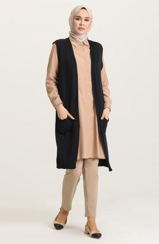 Navy Blue Waistcoats 0625-03