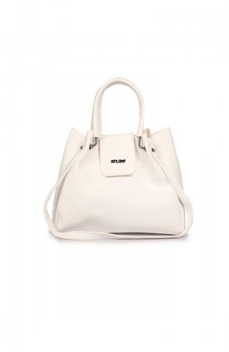 White Shoulder Bags 04-07