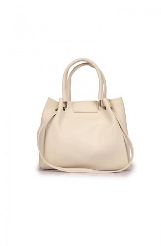 Beige Shoulder Bag 04-08
