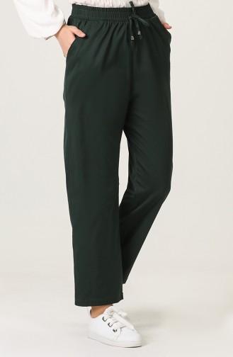 Pantalon Vert Foncé 3501-03