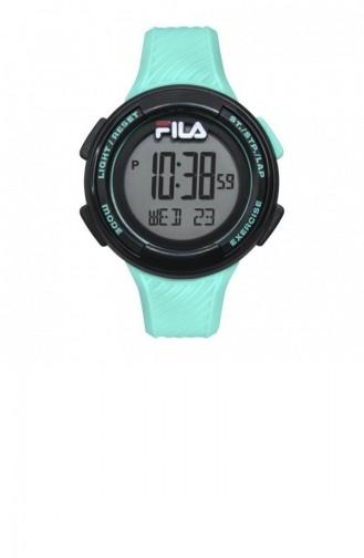 Türkis Uhren 38-163-003