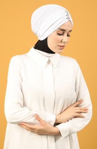 القبعات أبيض 0035-04