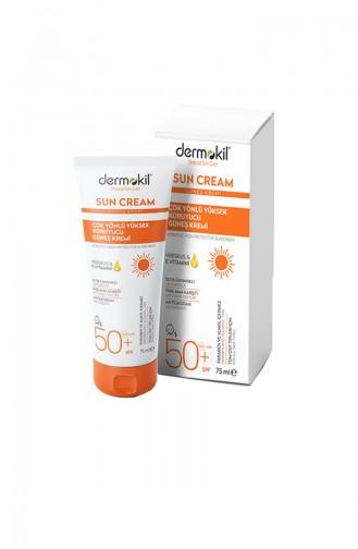 Dermokil 50 SPF Güneş Kremi 75 Ml 08569