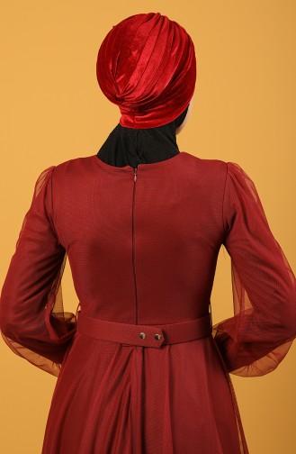 Velvet Sequin Vera Bonnet Red 0039-02