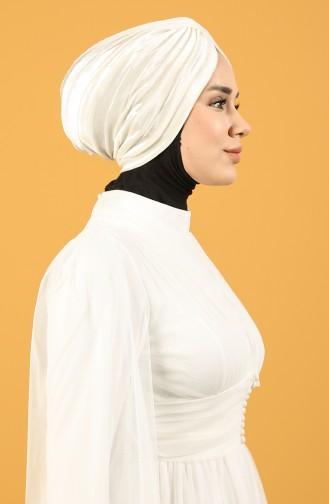 Velvet Sequin Vera Bonnet Cream 0039-01