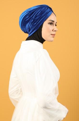 Velvet Sequin Vera Bonnet Blue 0039-17