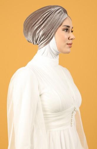 Velvet Sequin Vera Bonnet Mink 0039-12