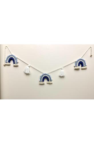 Décoration Murale Bleu 001-01