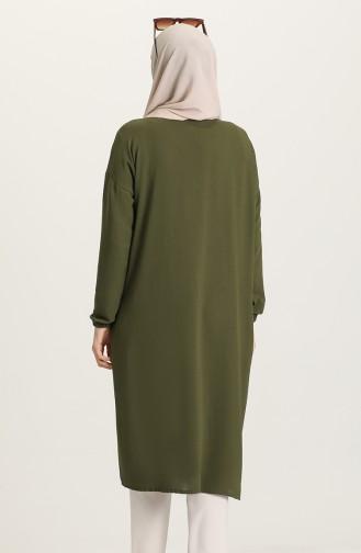 Khaki Mantel 0618-03