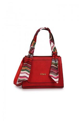 حقيبة كتف أحمر 06-02