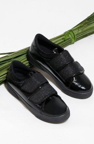 أحذية رياضية أسود 0304-01