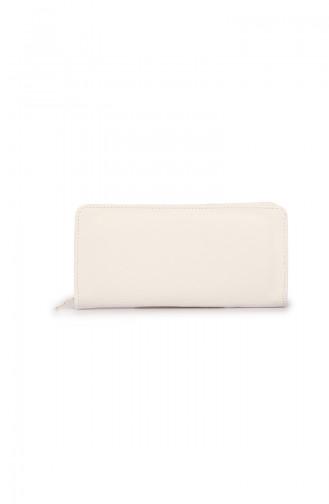 Portefeuilles Blanc 54Z-07