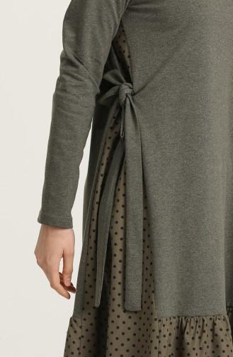 Robe Hijab Khaki 3278-01
