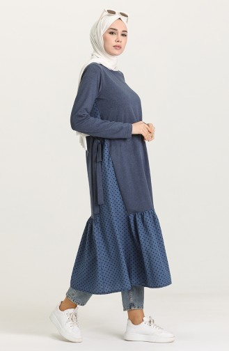 Robe Hijab Indigo 3278-05