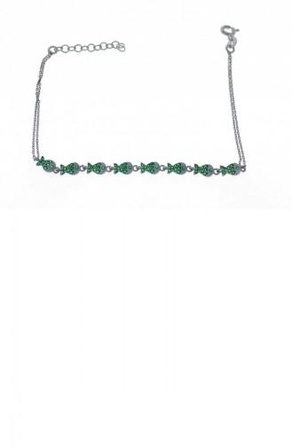 Silbergrau Armband 1000321170196