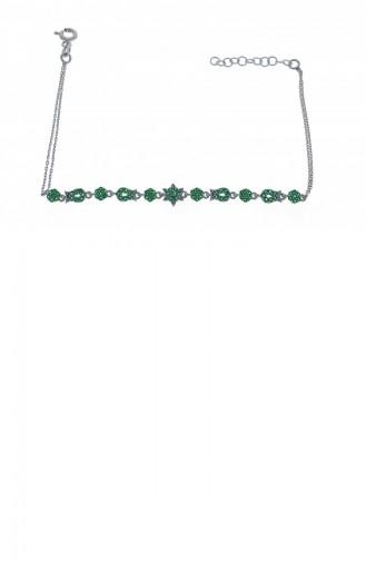 Silbergrau Armband 1000321170212