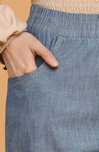 Beli lastikli Kot Pantolon 3500B-01 Lacivert 3500B-01