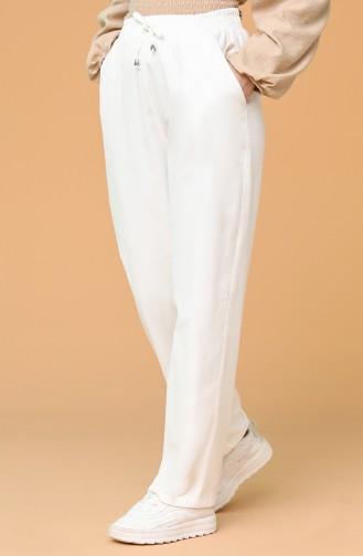 Pantalon Ecru 3501-01