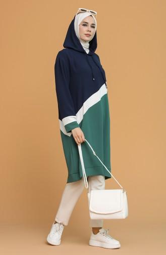 Green Tunics 2445-04