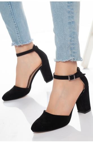 Chaussures a Talons Noir 13-01