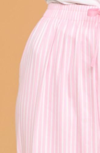 بنطال وردي 4208-01